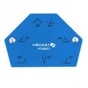 Magnetyczny kątownik spawalniczy sześciokątny HOGERT