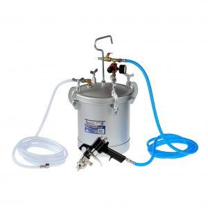 Agregat malarski- zbiornik lakierniczy ciśnieniowy 8l GEKO1