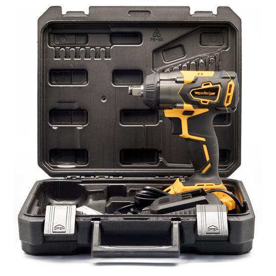 Akumulatorowy klucz udarowy ADLER 350Nm + akumulator i ładowarka ADLER 2
