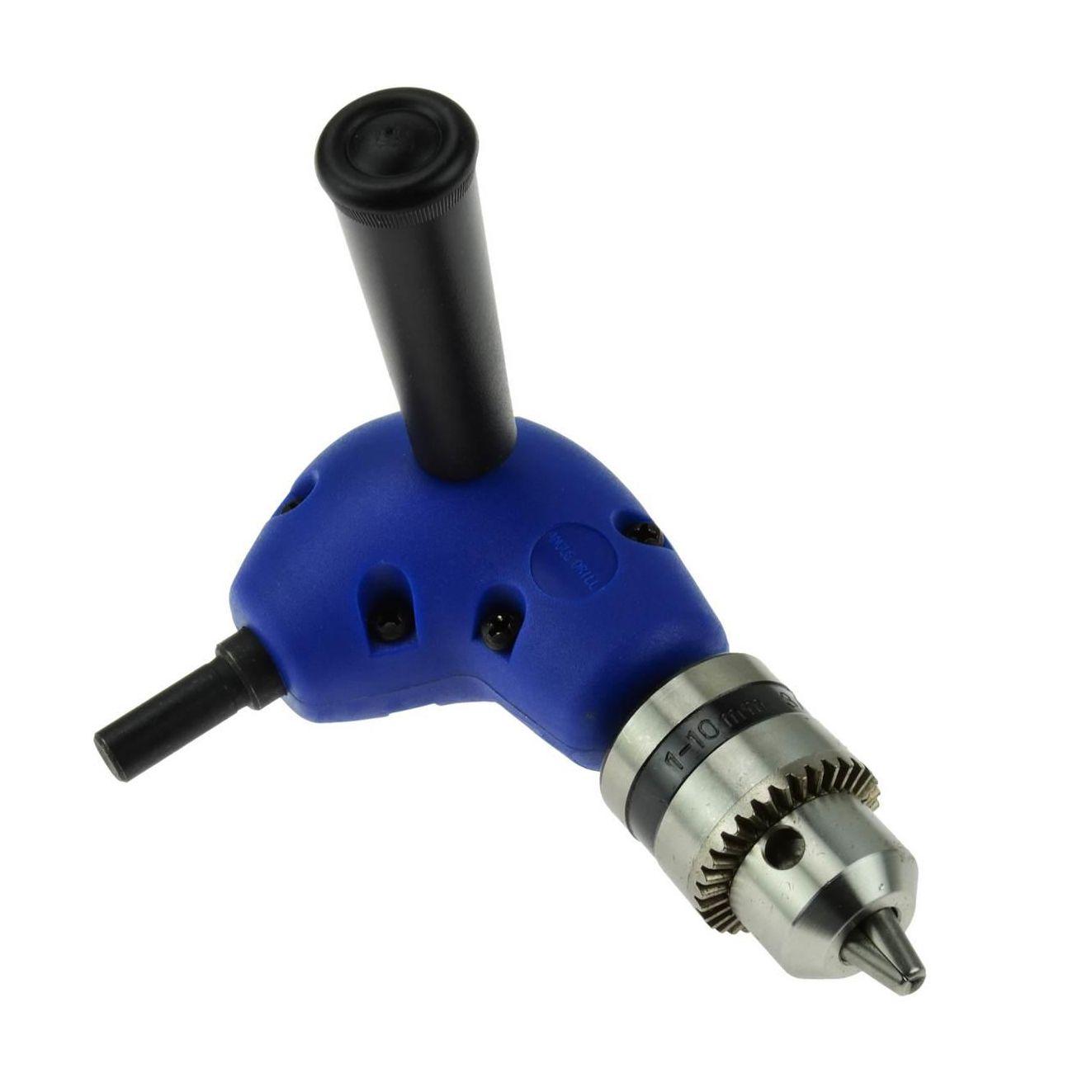 Przystawka kątowa do wiertarki, główka 1,5-10 mm GEKO1
