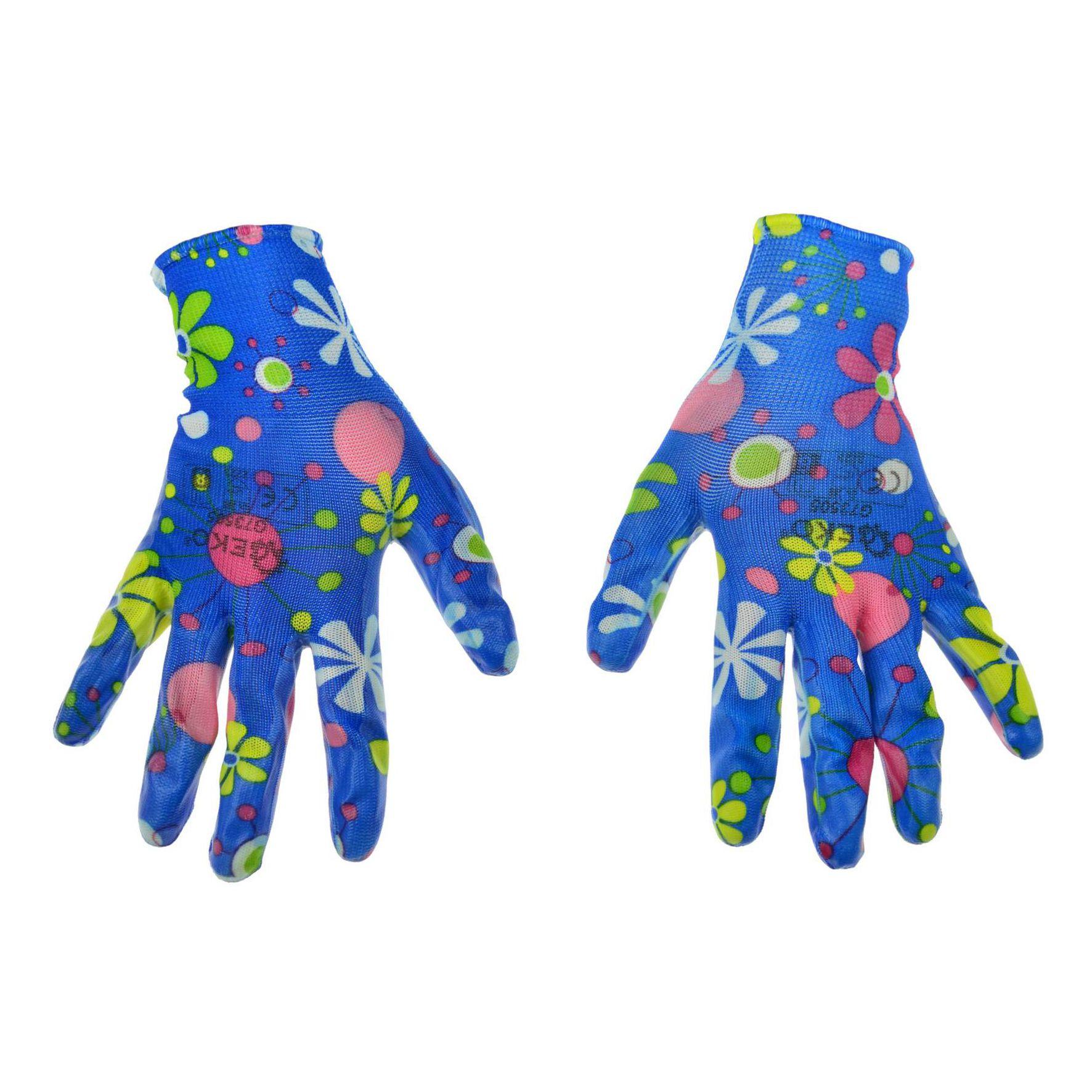 Rękawice robocze ogrodowe damskie GEKO 1