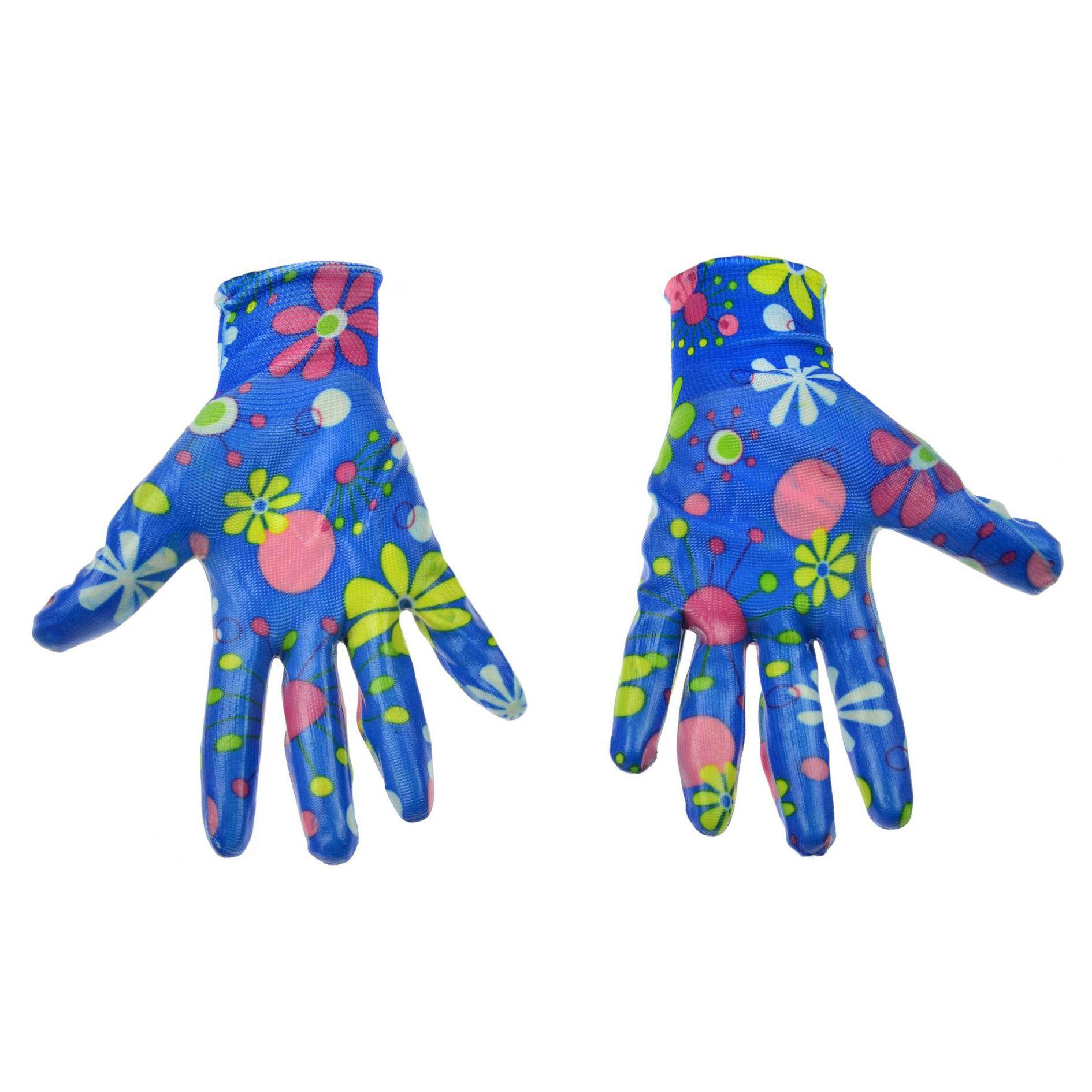 Rękawice robocze ogrodowe damskie GEKO 2