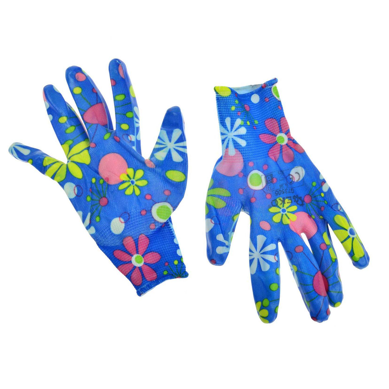 Rękawice robocze ogrodowe damskie GEKO 3