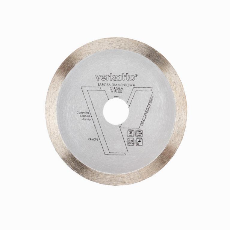 Tarcza diamentowa ciągła V-PLUS Verkatto