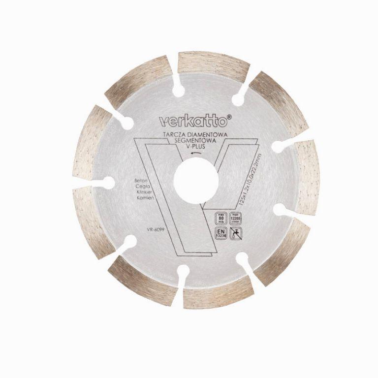 Tarcza diamentowa segmentowa V-PLUS Verkatto