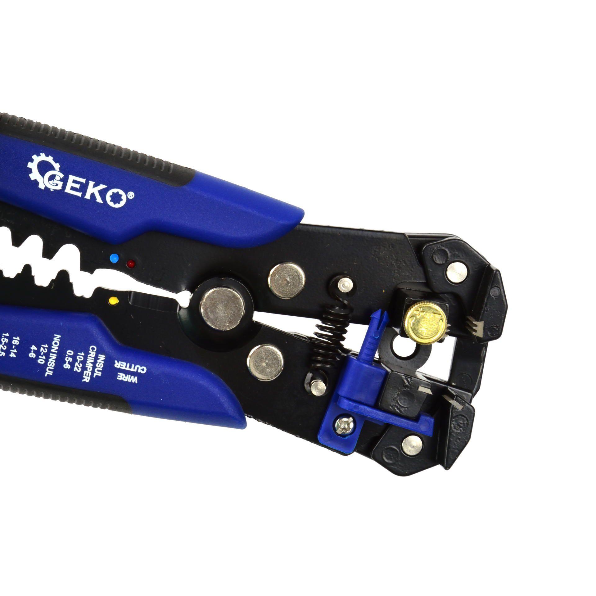 Wielofunkcyjny ściągacz do izolacji kabli i przewodów 0,2-6 mm GEKO3