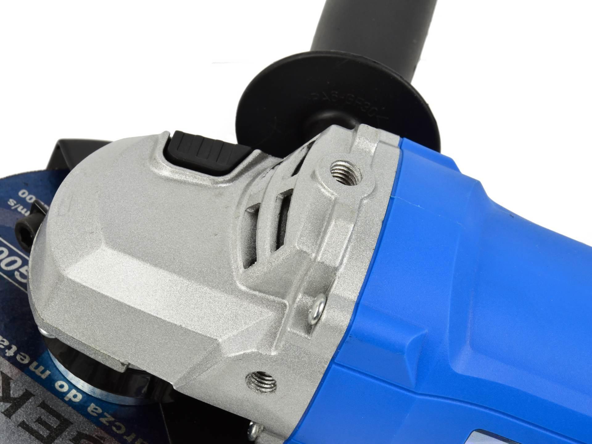 Szlifierka kątowa 125 mm z regulacją obrotów, długa rączka GEKO 3