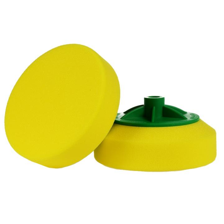 Gąbka do polerowania na gwint BOLL żółta