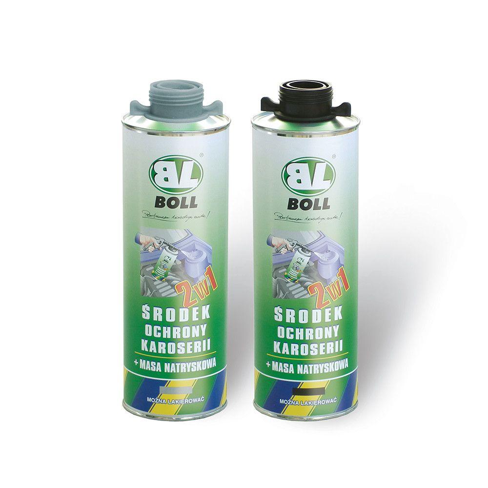 Środek ochrony karoserii+masa natryskowa 2 w 1 BOLL