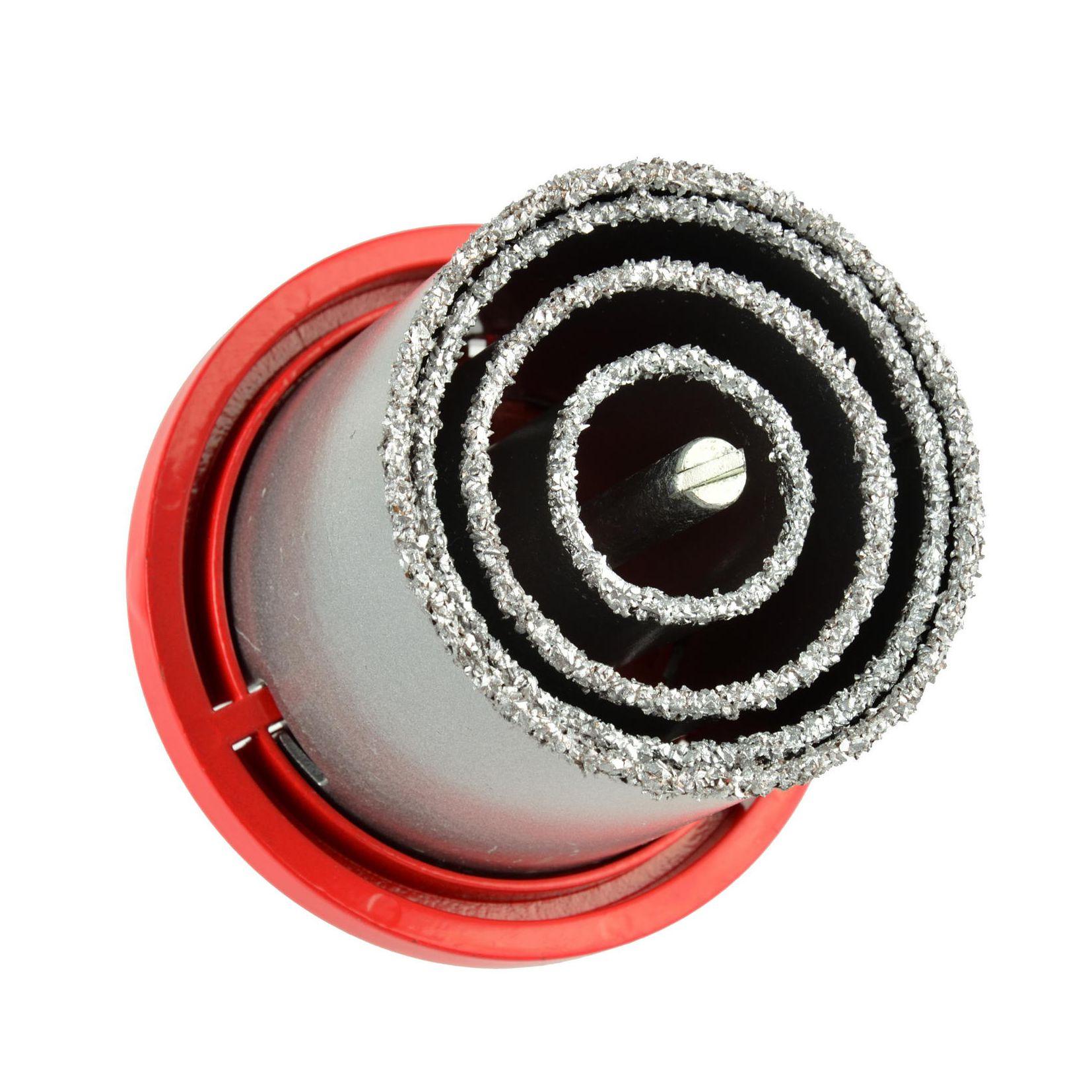 Otwornica wolframowa do glazury 33-73mm 4el. GEKO 3